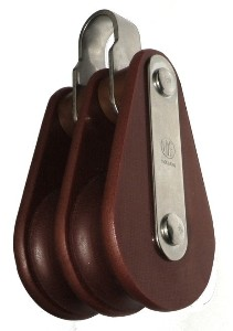 Slide vent double pulley