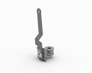 Fuel cylinder ball valve - assembly