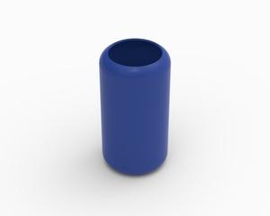 Cylinder cover (excludes foam) - KB72L, blue