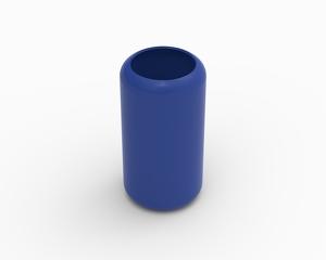 Cylinder cover (excludes foam) - KB97L, blue