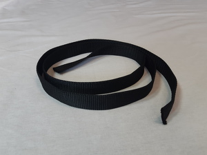 Vertical load tape, 30mm, black