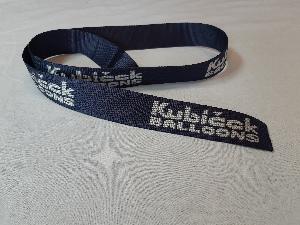 Kubicek branded load tape, blue, width 44 mm