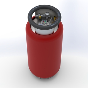 KB85L Fuel cylinder - M, TEMA-Lorch