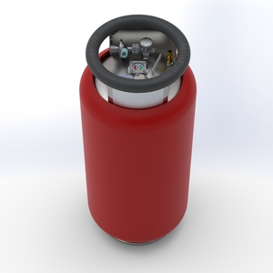 KB85L Fuel cylinder - M, TEMA-Tema
