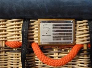 Basket identification plates