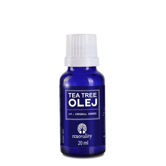RENOVALITY Tea Tree olej 20 ml s kapátkem