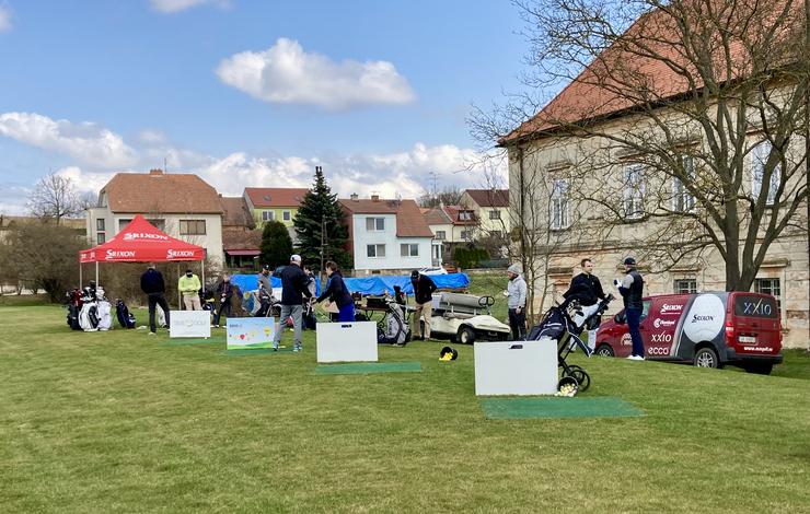 Den otevřených dveří a Cross golf turnaj, sobota 8.května 2021
