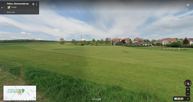 Google Street View našel driving v Pršticích
