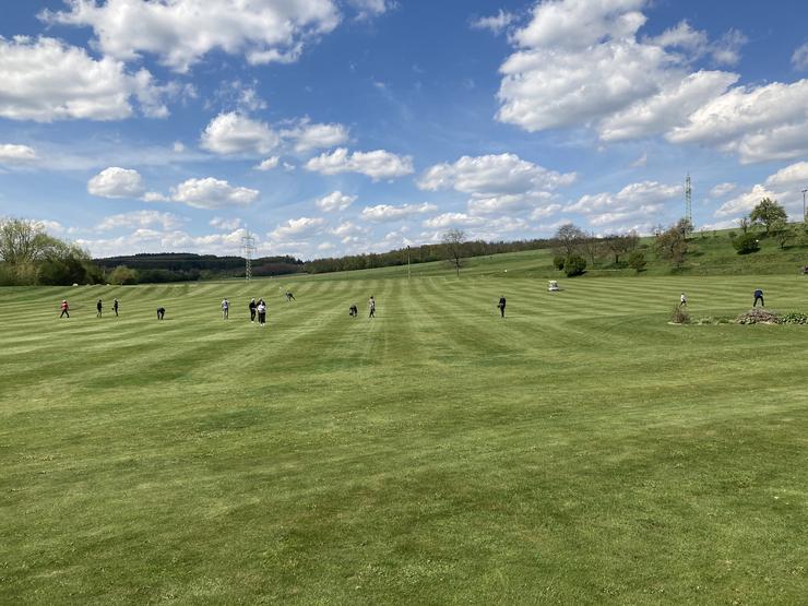 Cross golf v Pršticích, sobota 8.května