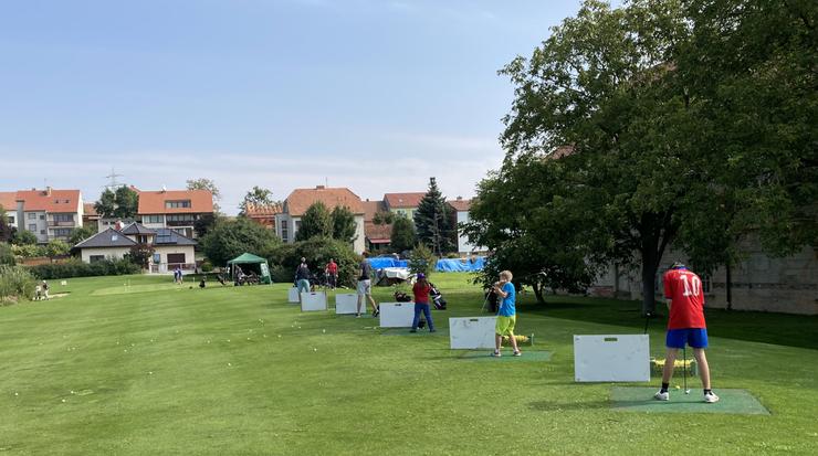 Den otevřených dveří a Cross golf turnaj, neděle 5.září 2021