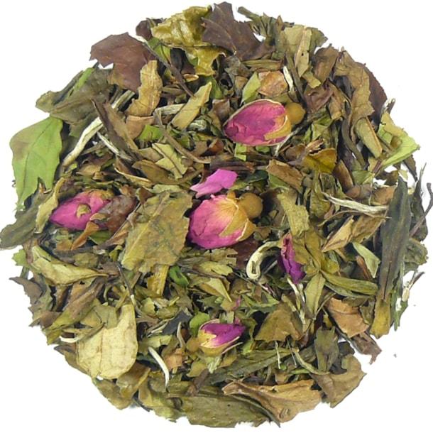 Čínská Růže - bílý aromatizovaný čaj
