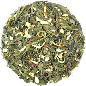 Šafrán-Jasmín - zelený aromatizovaný čaj