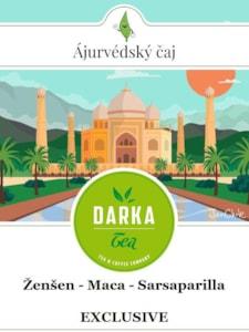 Ženšen - Maca - Sarsaparilla Exclusive 150 g