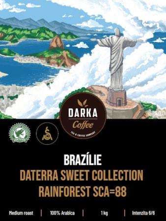 Brazílie Daterra Sweet Collection Rainforest SCA 88
