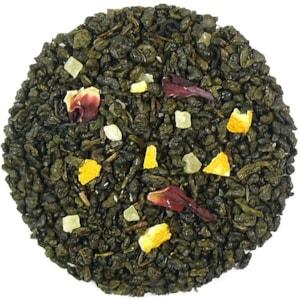 Ananasové osvěžení - zelený aromatizovaný čaj