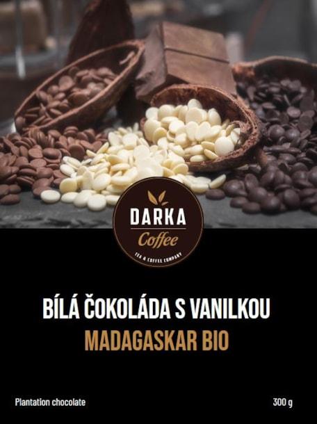 Bílá čokoláda s vanilkou Madagaskar BIO - 300g