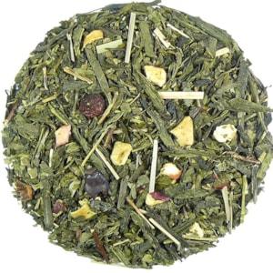 Fitness - zelený aromatizovaný čaj