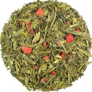 Ginkgo-Jahoda - zelený aromatizovaný čaj
