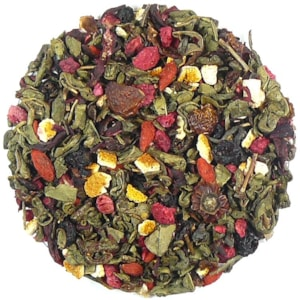 Gunpowder - Malina - Goji - zelený aromatizovaný čaj