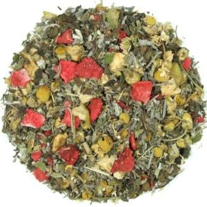 Horké jahody - Ajurvédský čaj