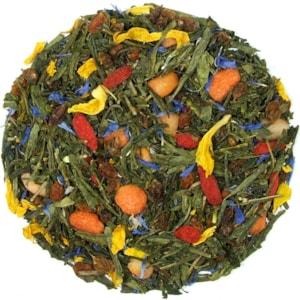 Rakytníkové pokušení - zelený aromatizovaný čaj