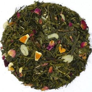 Vánoční hvězda - zelený aromatizovaný čaj