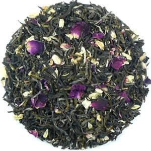 Yunnan - Jasmín - Růže - zelený aromatizovaný čaj