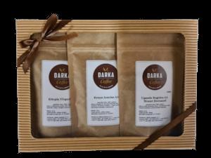 Kávové Degustační menu Afrika