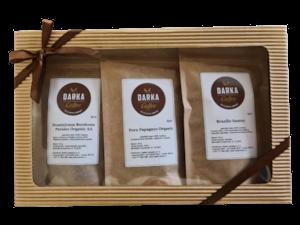 Kávové Degustační menu Latino