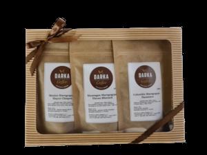Kávové Degustační menu Maragogype