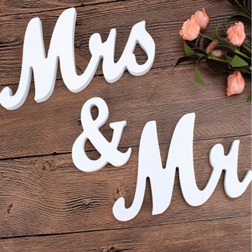 pismena mrs mr_easywedding