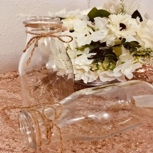 vaza s jutovou maslickou