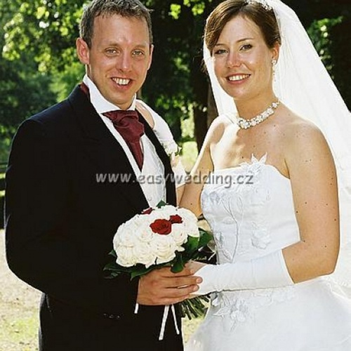 Lucie a Nick srpen 2005 (1)