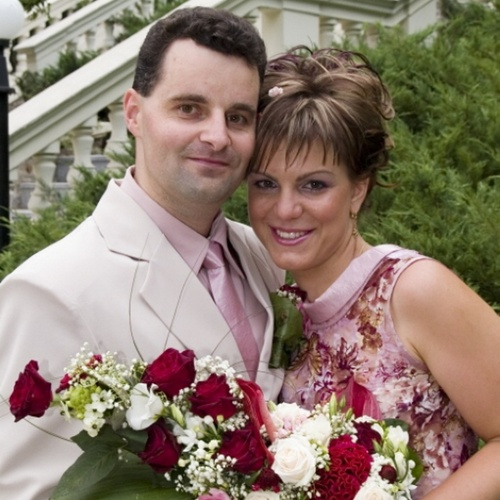 Věra a Milan - svatba v balónu 2006 (6)