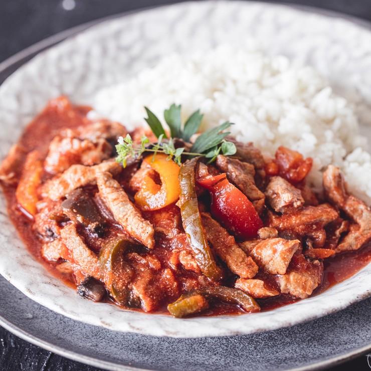 Vepřové nudličky s chilli