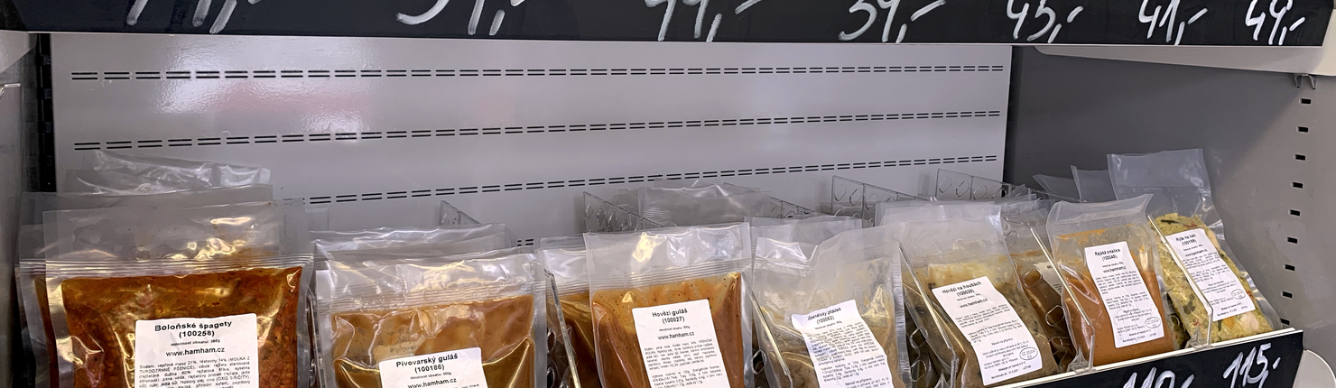 Prodej chlazených jídel HAM*HAM