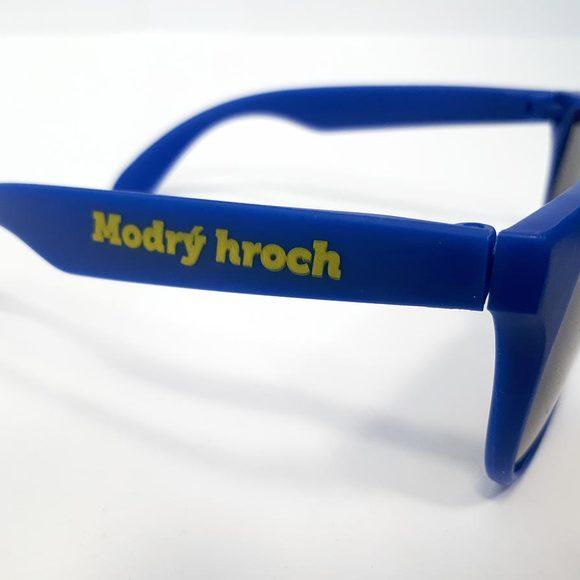 Sluneční brýle modré - bok