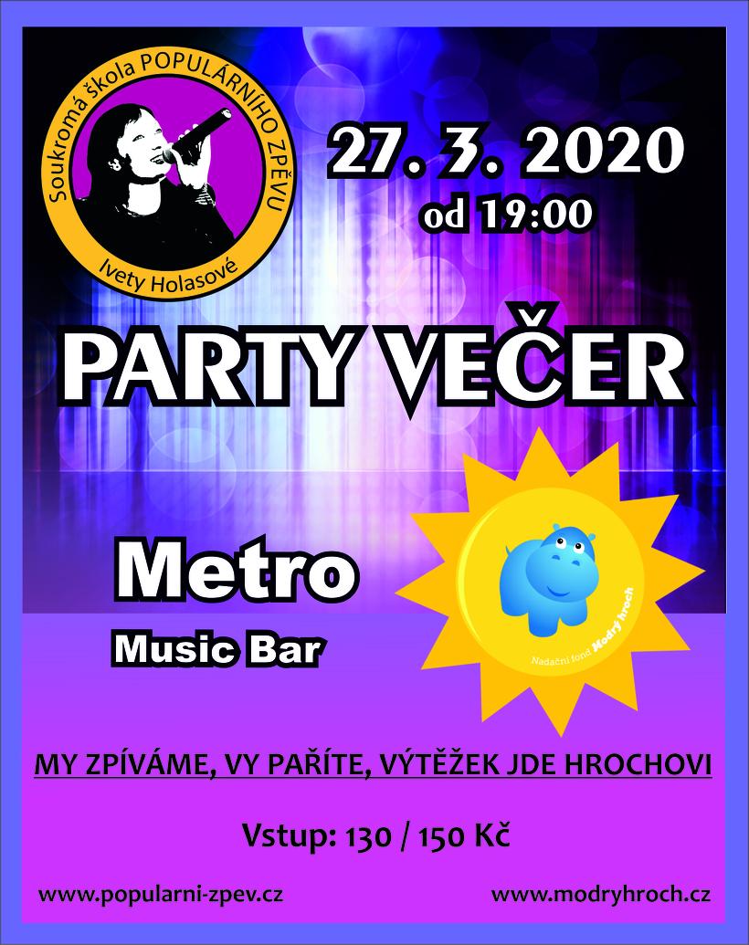 Party večer pro Hrocha