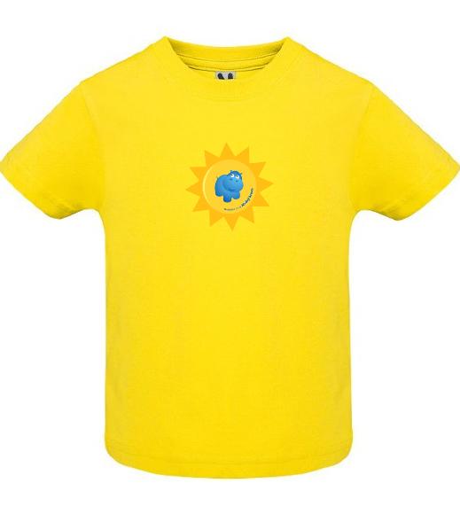 Dětské tričko Modrý hroch