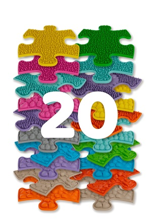 Set of orthopedic floors - Mini puzzles set
