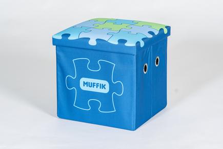 Úložný box MUFFIK malý modrý