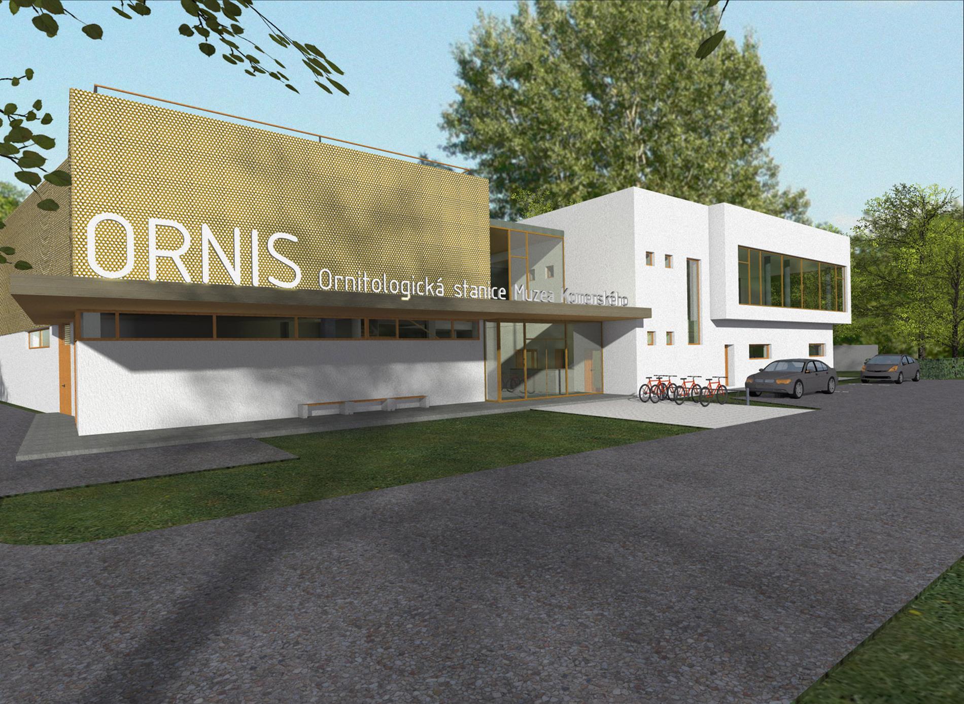Jak bude vypadat budova ORNIS?