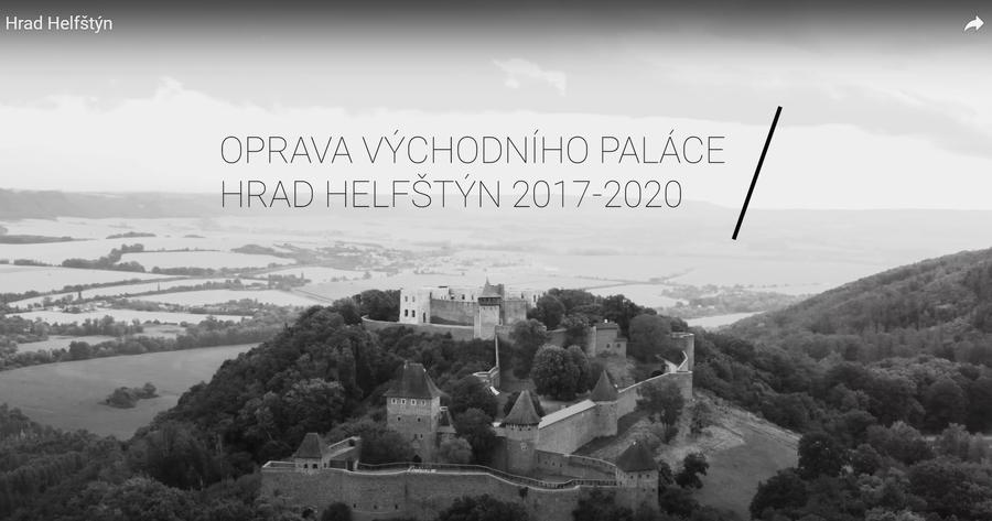Oprava východního paláce hradu (2017 – 2020, Hochtief)