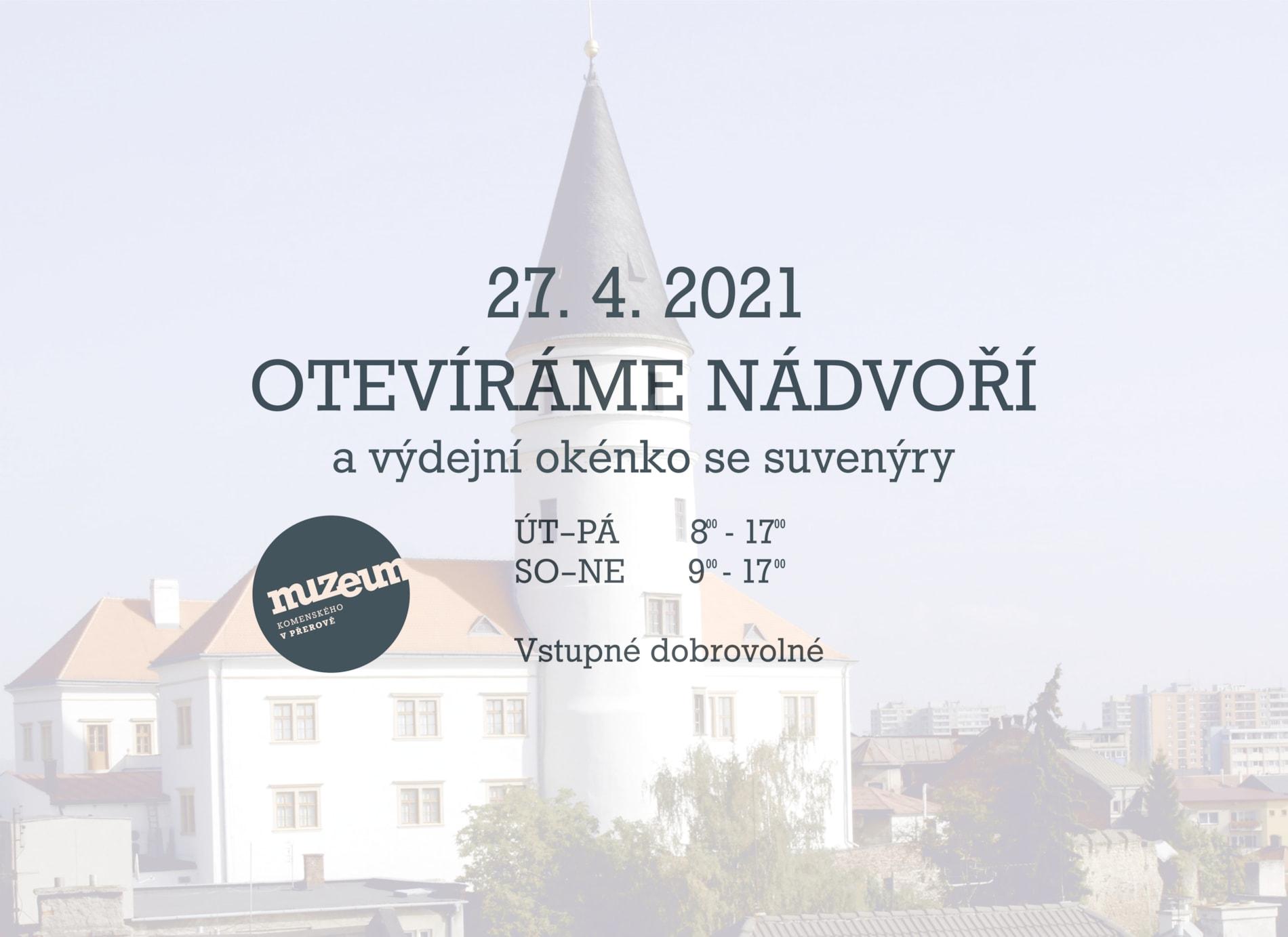 Otevíráme exteriéry Muzea Komenského v Přerově