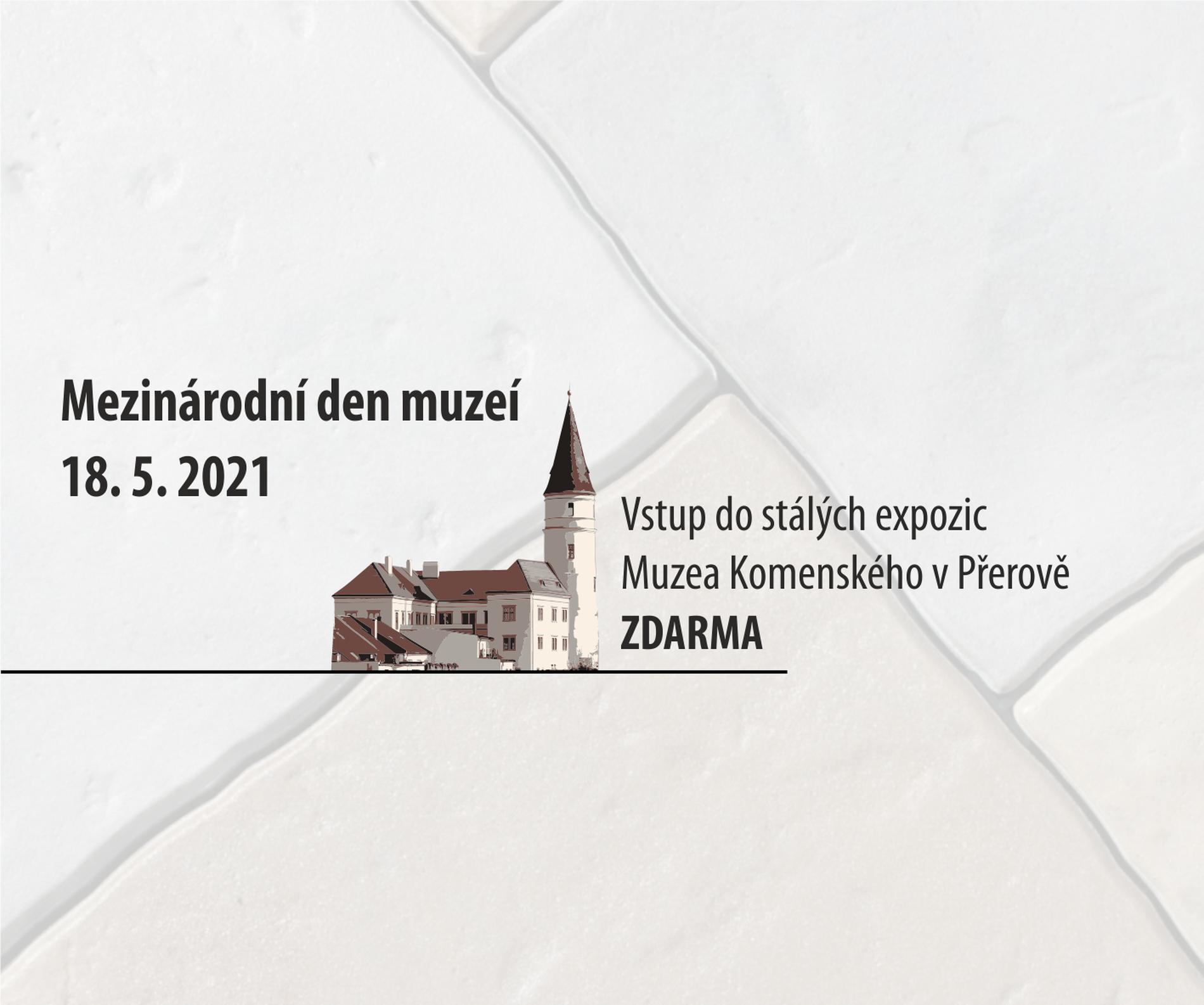 Oslavte s námi mezinárodní den muzeí!