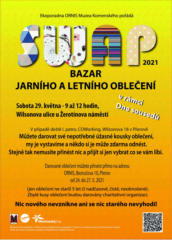 Swap oblečení tentokrát součástí Dne sousedů v sobotu 29.května