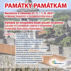 Památky památkám - plakát