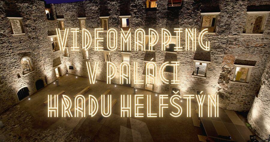 Videomapping v paláci hradu Helfštýna (2021)