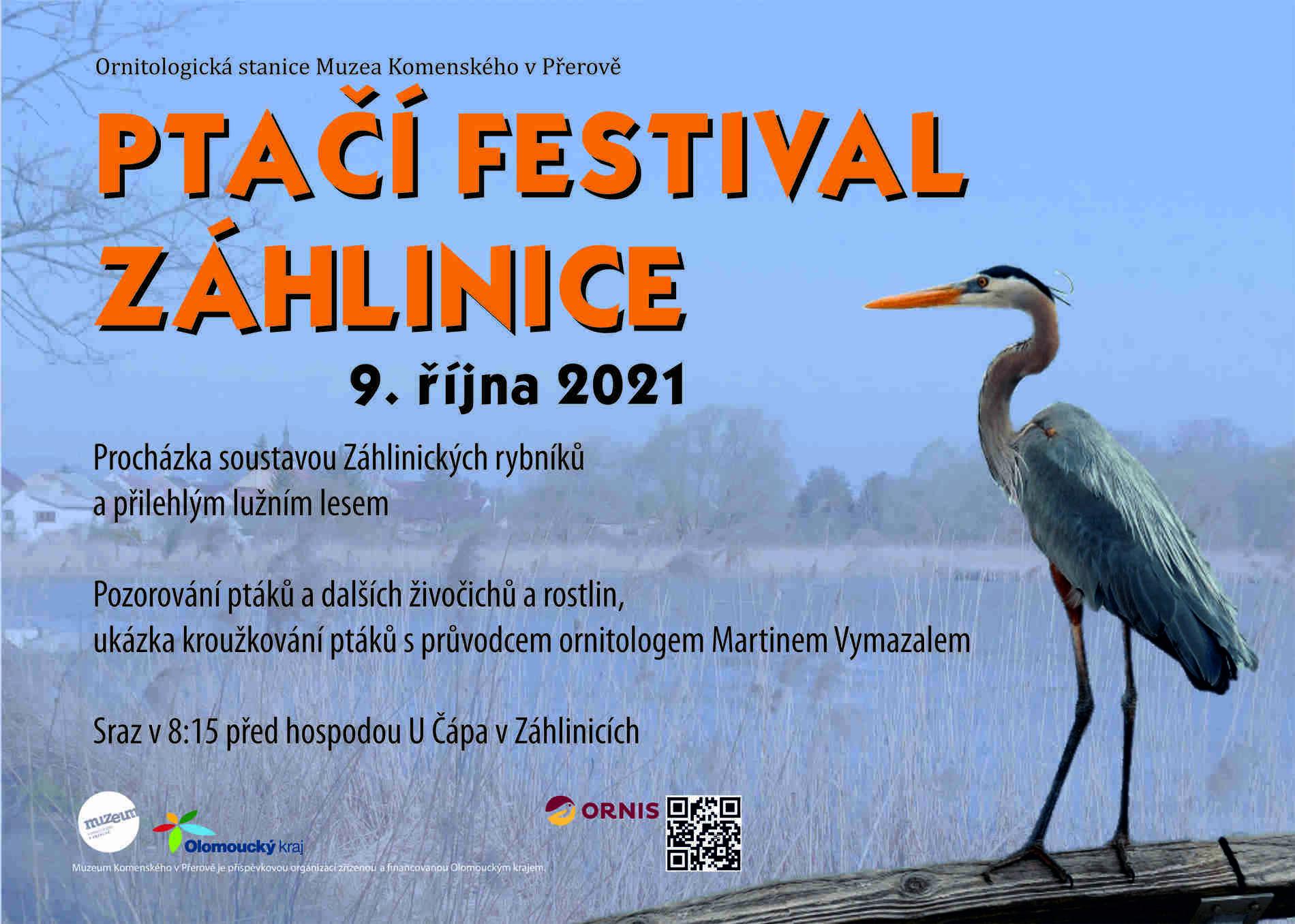 Ptačí festival v Záhlinicích