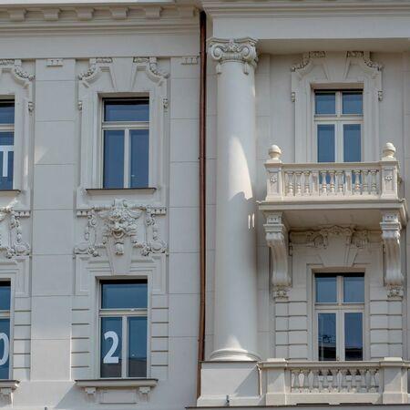 Detail budovy zvenku